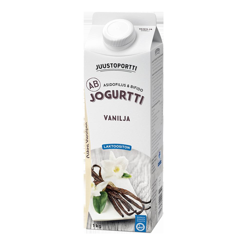 Juustoportti AB-jogurtti 1 kg vanilja laktoositon