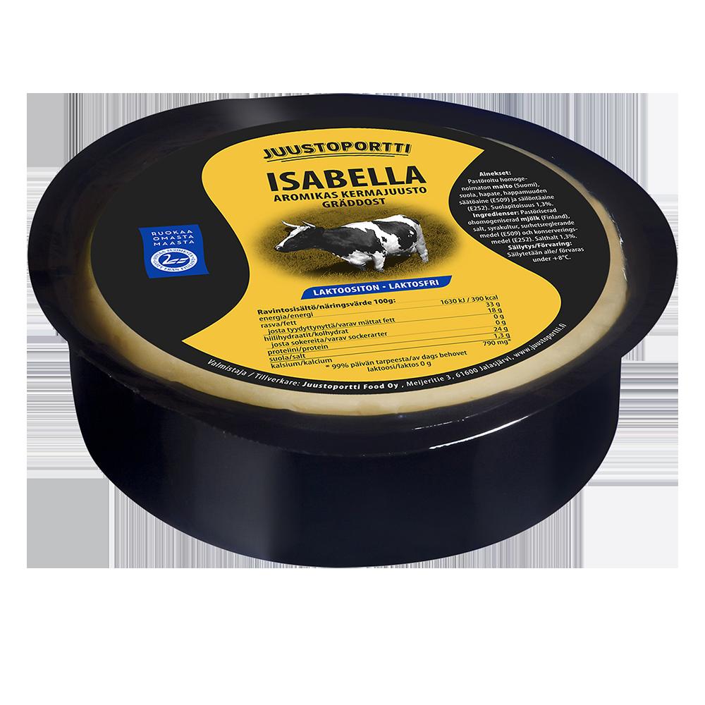Juustoportti Isabella kermajuusto 450 g