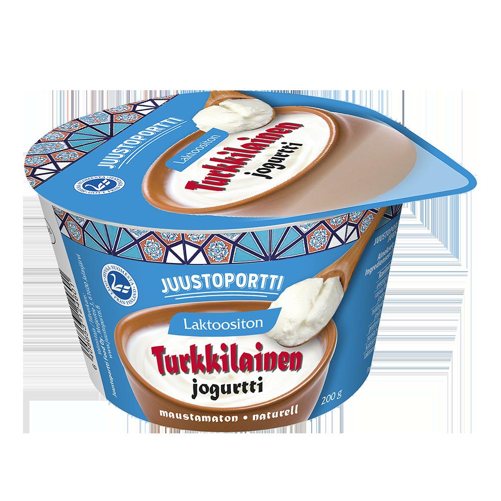 Juustoportti turkkilainen jogurtti 200 g laktoositon