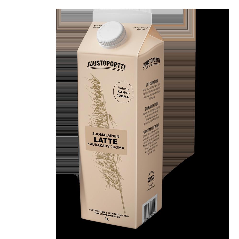 Juustoportti latte kaurakahvijuoma 1 l