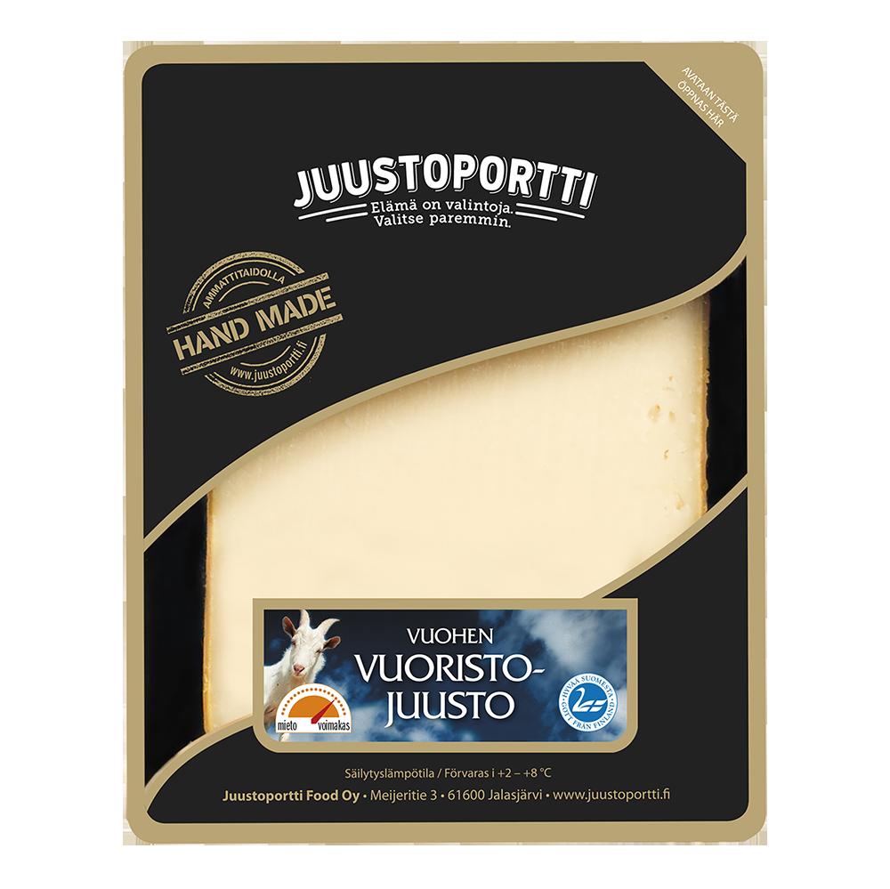 Juustoportti vuohen vuoristo juusto 175 g