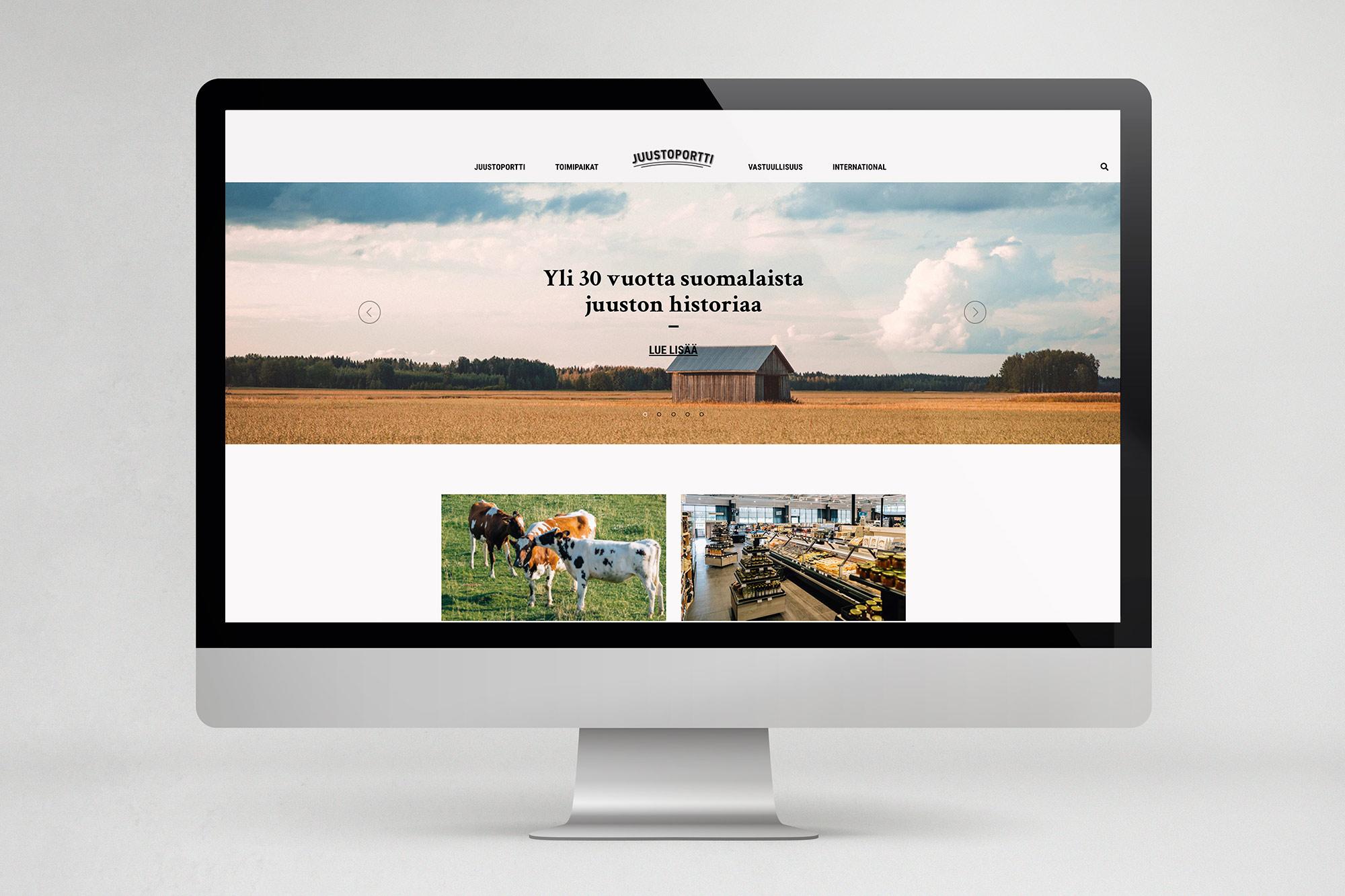 Uudet nettisivut