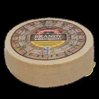 Juustoportti Brandy-pähkinä juusto noin 5 kg kiekko