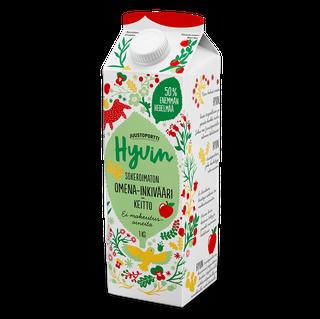 Juustoportti Hyvin sokeroimaton omena-inkiväärikeitto 1 kg