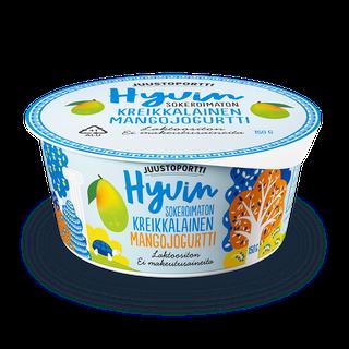 Juustoportti Hyvin sokeroimaton kreikkalainen jogurtti 150 g mango laktoositon