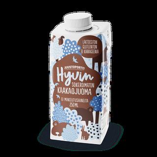 Juustoportti Hyvin sokeroimaton kaakaojuoma 250 ml laktoositon, gluteeniton