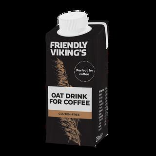 Friendly Viking's kaurajuoma kahviin 250 ml gluteeniton