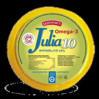 Juustoportti Julia viipaloitava rypsiöljyvalmiste 10 % 410 g