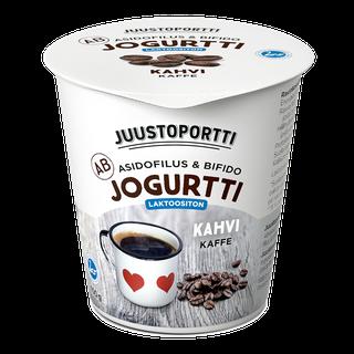 Juustoportti AB-jogurtti 150 g kahvi