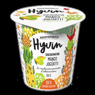 Juustoportti Hyvin sokeroimaton jogurtti 150 g mango