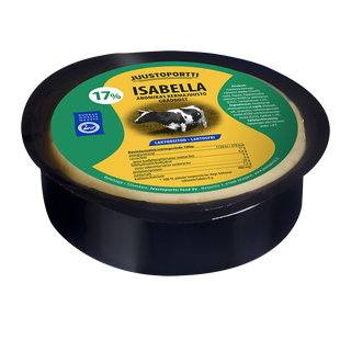 Juustoportti Isabella kermajuusto 17 % 450 g