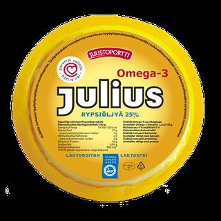 Juustoportti Julius viipaloitava rypsiöljyvalmiste 25 % 430 g