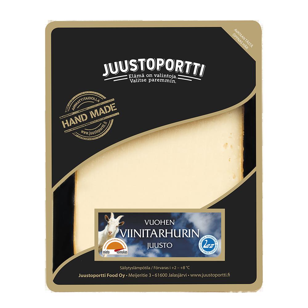 Juustoportti Vuohen viinitarhurin juusto 175 g