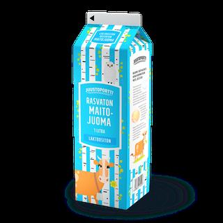 Juustoportti rasvaton maitojuoma 1 l