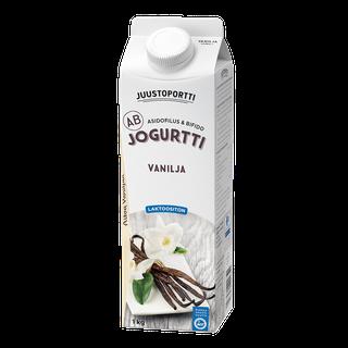 Juustoportti AB-jogurtti 1 kg vanilja