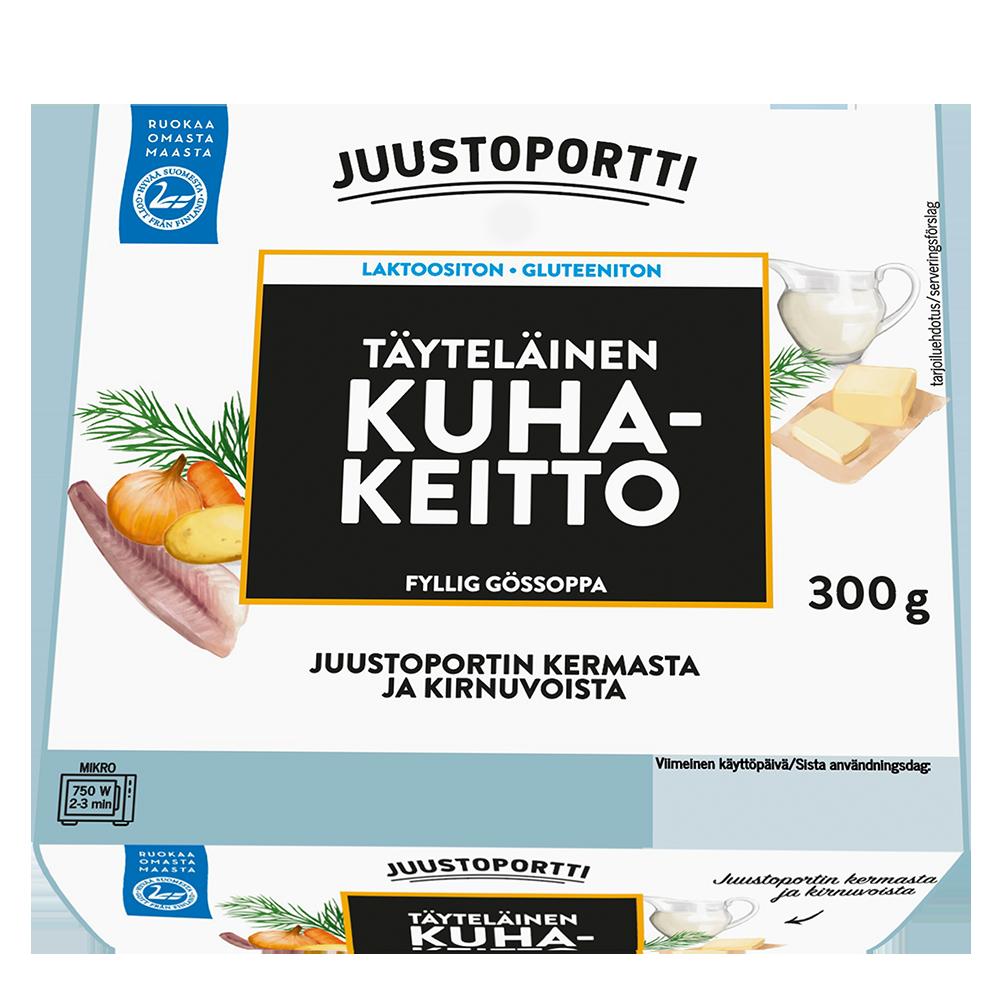 Juustoportti Täyteläinen Kuhakeitto 300 g